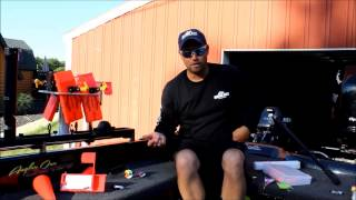 How to set up Spin N Glow on the Great Lakes for Walleye!