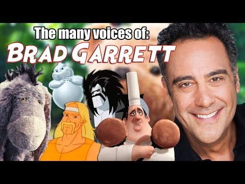 Many Voices of Brad Garrett Christopher Robin  Finding Nemo  Tangled