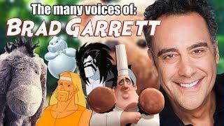 Many Voices Of Brad Garrett  Christopher Robin - Finding Nemo - Tangled