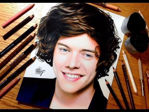 drawing harry styles youtube