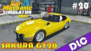 Sakura GT20 TUNING 2/2 - Car Mechanic Simulator 2015 #20
