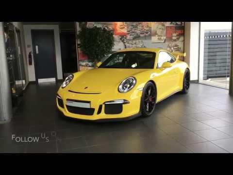 Porsche 911 991.1 GT3 - Racing Yellow   SOLD