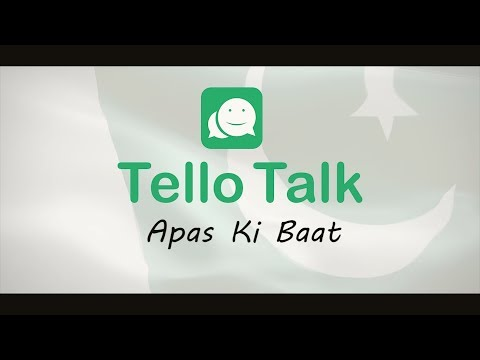 TelloTalk: Pakistan Live Chat, Talk & Play