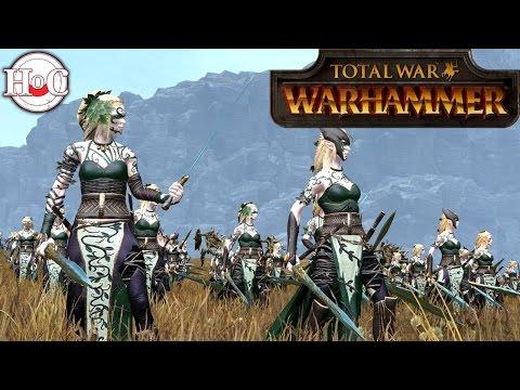Elven Death Star?  - Total War Warhammer Online Battle 247