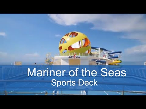 Mariner of the Seas' NEW Sports Deck!