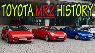 ★Toyota MR2 History : Everything YOU need to know! ★