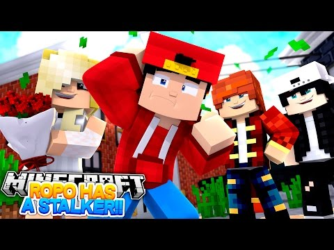Minecraft Adventure - ROPO HAS A STALKER!!! - Видео из Майнкрафт (Minecraft)