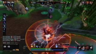 Smite - Vulcan triple kill Vs. Susano, Odin and Ra