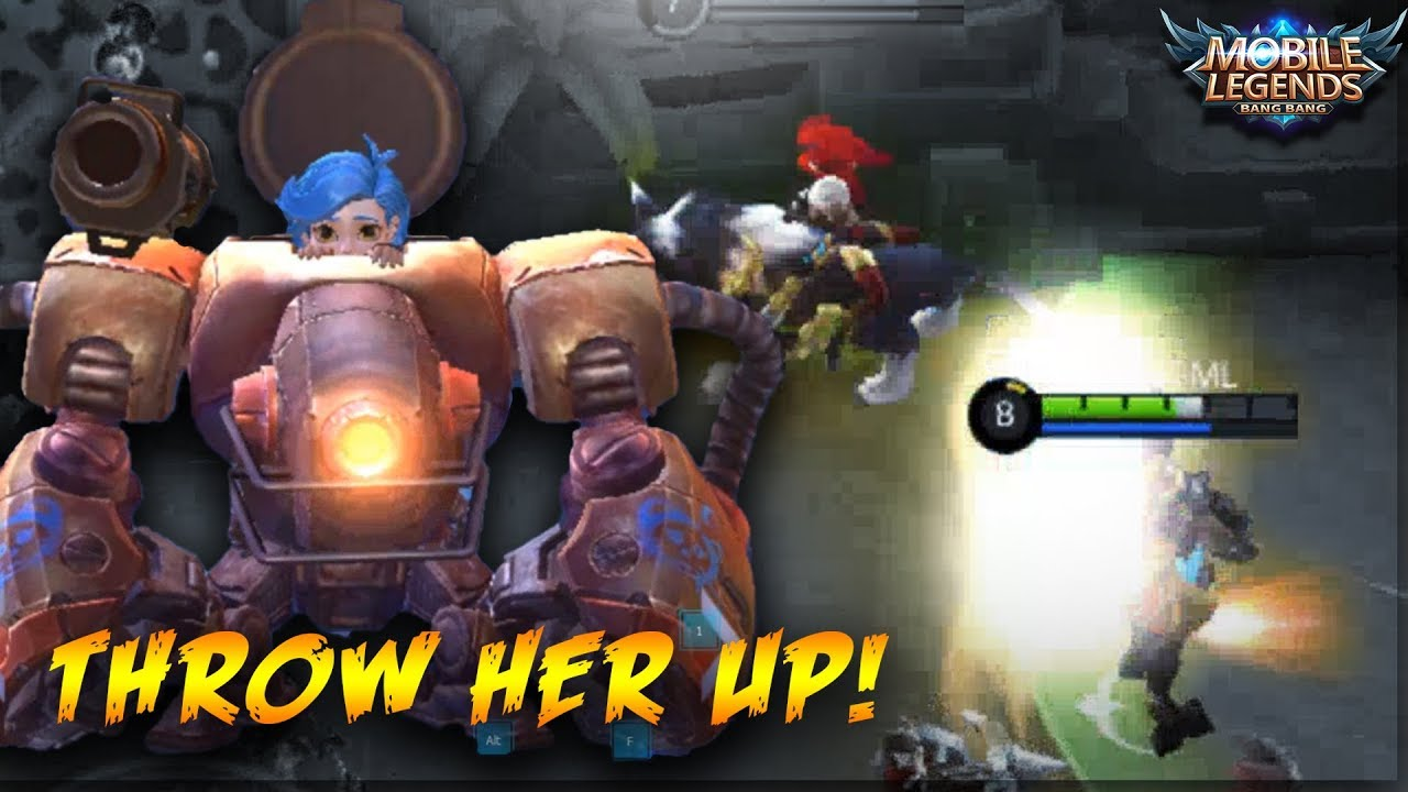 New Hero Jawhead Can Throw Anything She Wants Mobile Legends Jawhead Gameplay