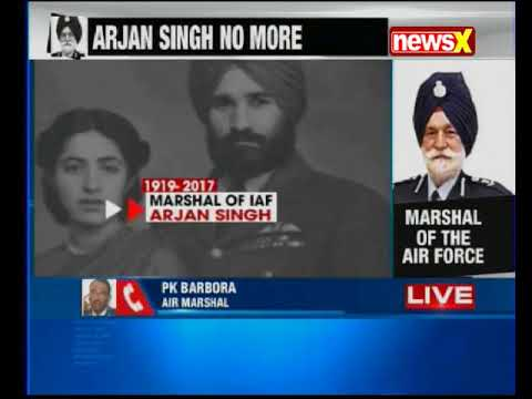 India mourns as Marshal of IAF Arjan Singh passes away