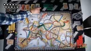 Настольная игра «Ticket to Ride: Европа» — обзор.