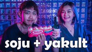 Download lagu PERTAMA KALI MENCOBA MINUM SOJU + YAKULT