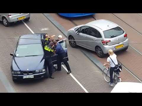 Poolse man trekt wapen in centrum Amsterdam - Wegmisbruikers 2017
