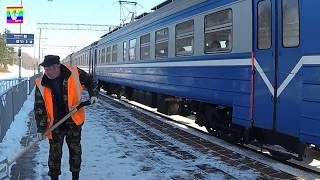 🚄 Детский канал 🚃 поезда Смотрим на поезда Грузовой поезд Пассажирский поезд Видео как едет поезд