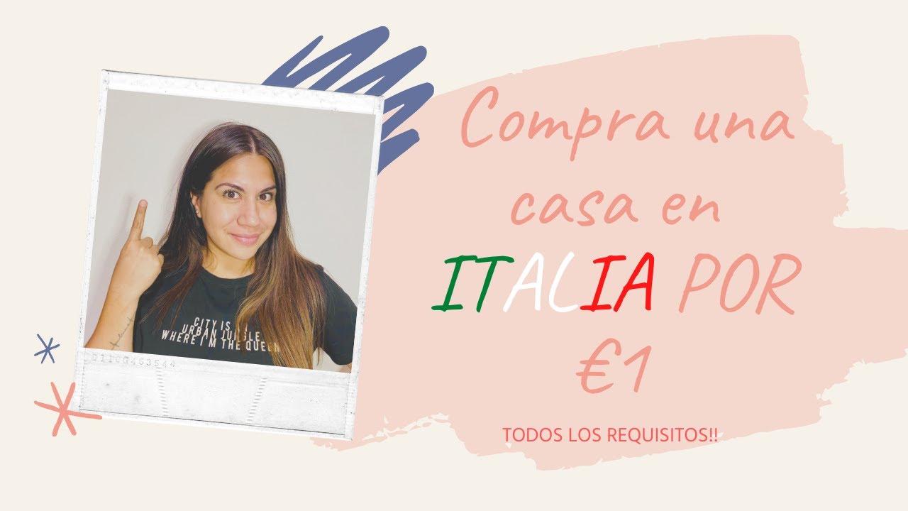 Compra una casa en ITALIA por €1 !!!