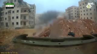 تقدم فصائل المعارضة في مواقع النظام شرق حلب
