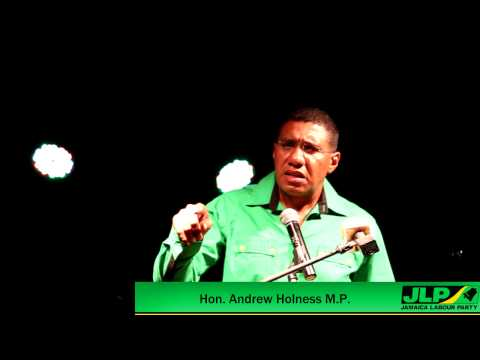 Holness - Moving jamaica From Poverty To Prosperity