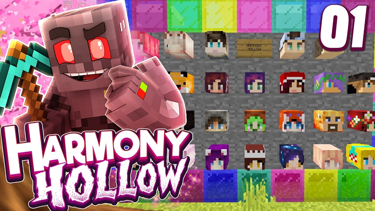 Minecraft Harmony Hollow Modded SMP Episode 1: Failed Marriage