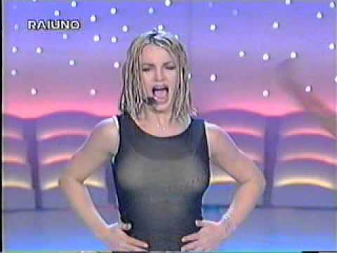 Britney Spears - Baby One More Time (From Italy's Rai Uno)