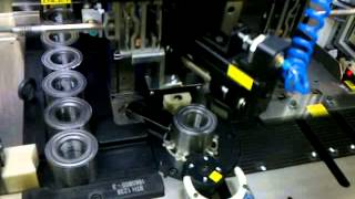 Bearing Inspection  Od And Squareness  Machine