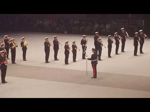 Nationale Taptoe 2016,  Bands of the Royal Norwegian Navy