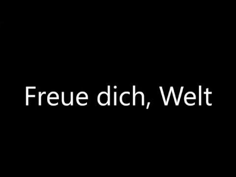 [Musik] Freue dich Welt - Johannes Haas - 1978 - Weihnachtslied - Kostenlos - sermon-online.de