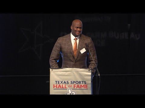 Vince Young Texas Sports Hall of Fame Speech [April 7, 2018]