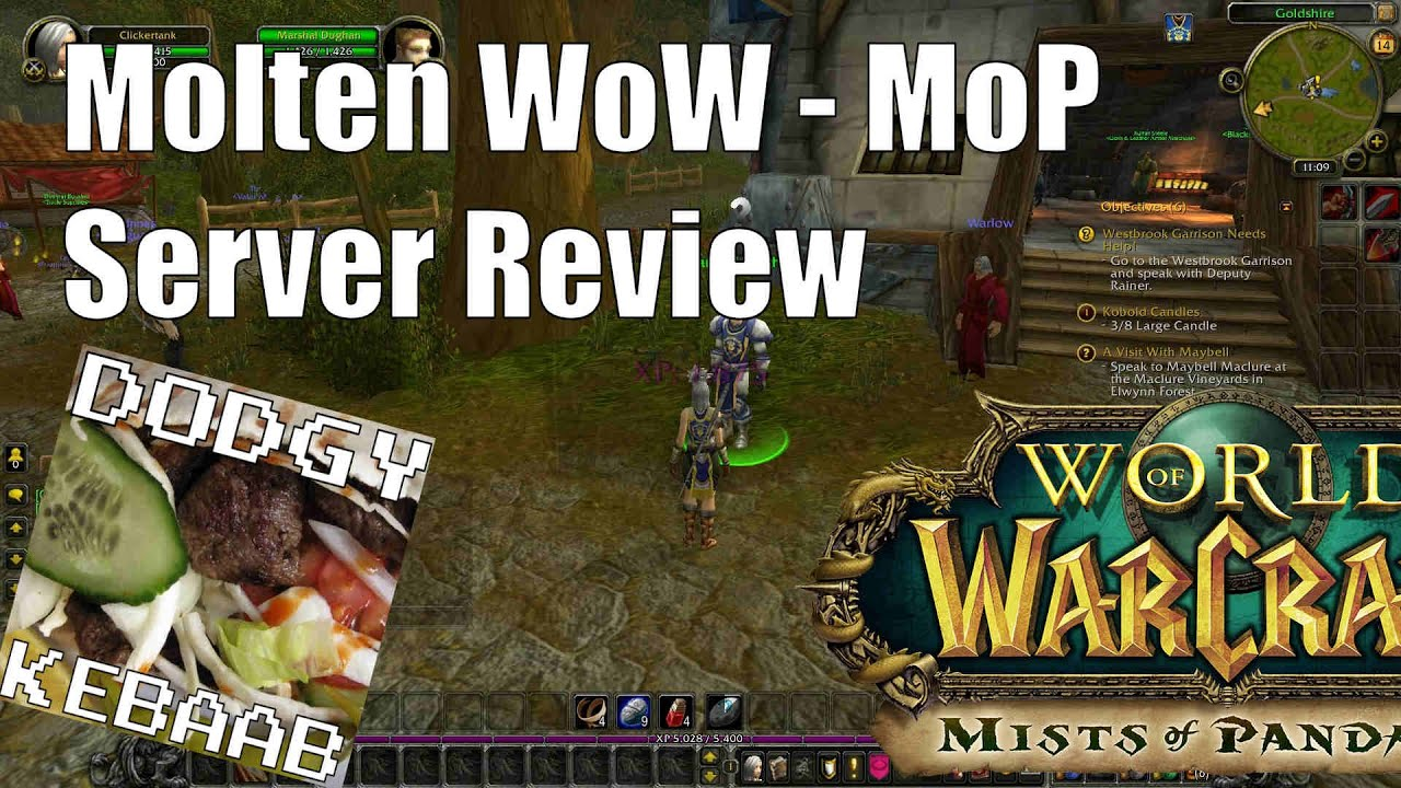 Molten Wow Private Server Review Mists Of Pandaria Youtube