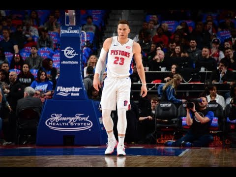 8d3d046ad583 Blake Griffin Scores 24 Points In His Detroit Pistons Debut! - YouTube