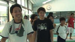 奈良市民体育大会 一般男子 200mフリーリレー 優勝 富雄富南水泳部OB