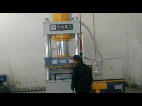 four column three beam hydraulic press machine