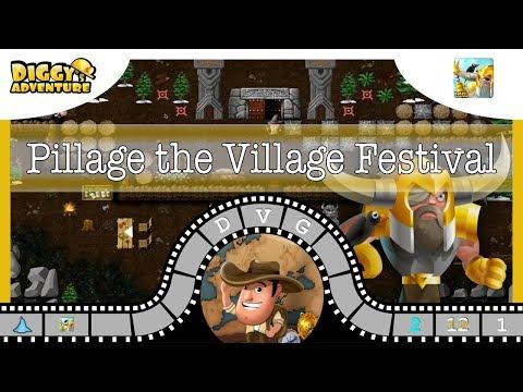 [~Odin~] #1 Pillage the Village Festival - Diggy's Adventure