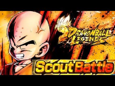 EASY PURPLE RISING SOULS FARMING?! New Krillin Scout Battle! Dragon Ball Legends