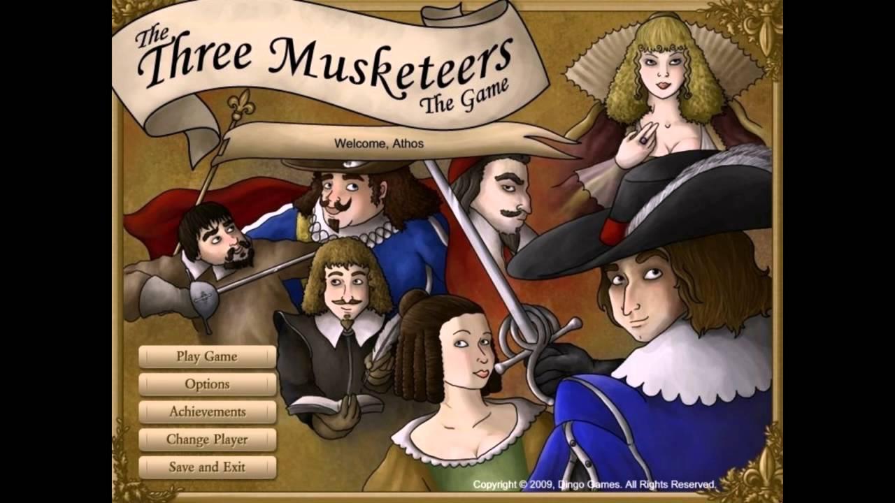 Three Musketeer Games