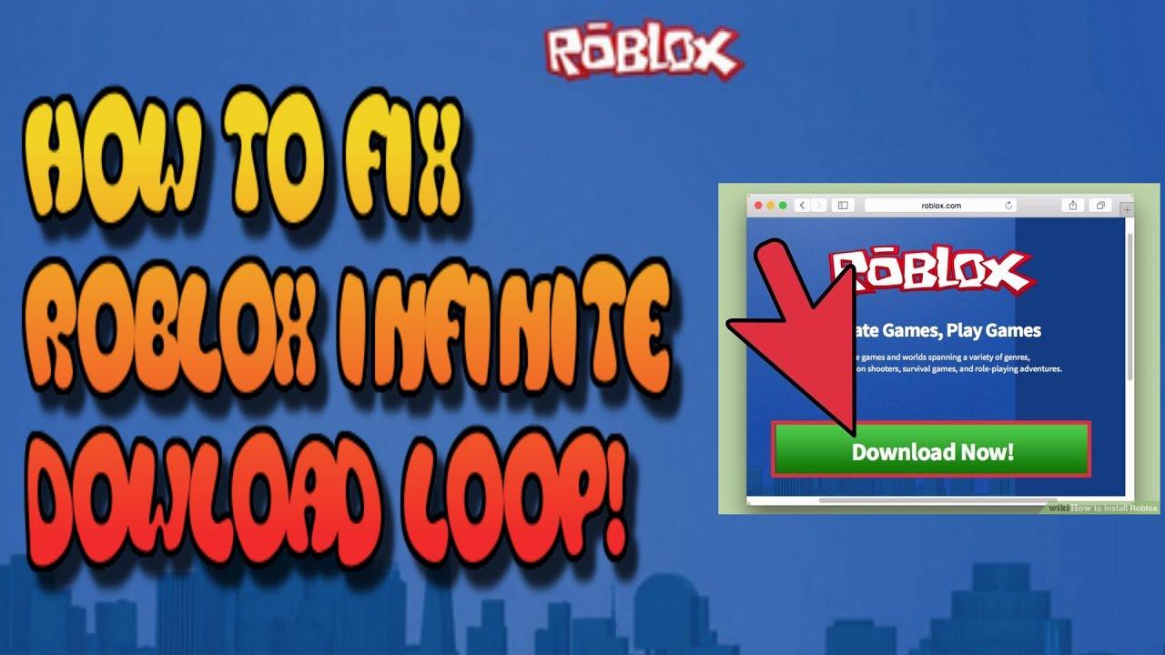 roblox infinite download fix