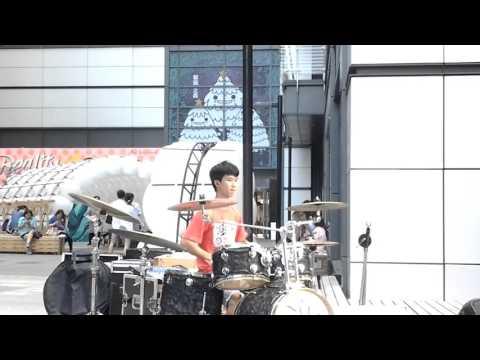 151115 爵士鼓 豆豆龍 PSY-Gangnam Style