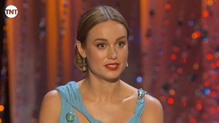 Brie Larson I SAG Awards Acceptance Speech 2016 I TNT
