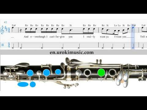 how-to-play-clarinet-ariana-grande-problem-melody-school-learn-class-course-tutorial-sheet-music-tab