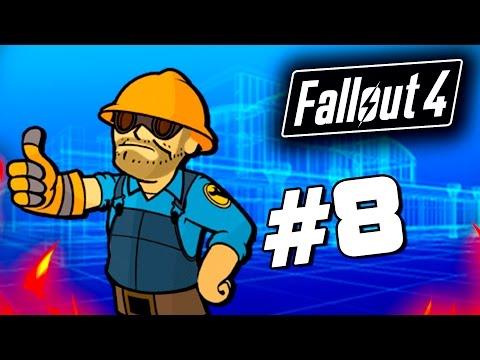 Fallout 4 - СТРОИТЕЛЬСТВО БАЗЫ! - Строим дом для выживших! (60 Fps) #8