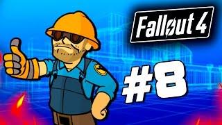 Fallout 4 - СТРОИТЕЛЬСТВО БАЗЫ - Строим дом для выживших 60 Fps 8