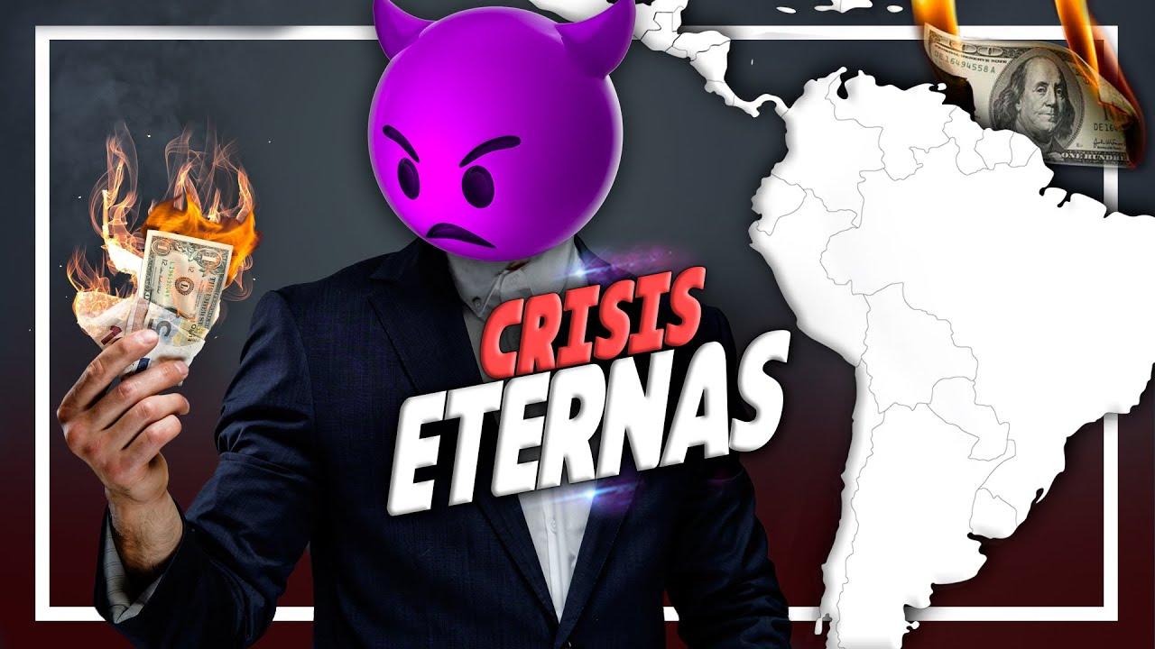 Los 9 países que SIEMPRE HAN ESTADO en CRISIS en América Latina