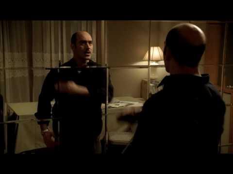 Scene from The Sopranos s4e6 - Artie does Taxi Driver