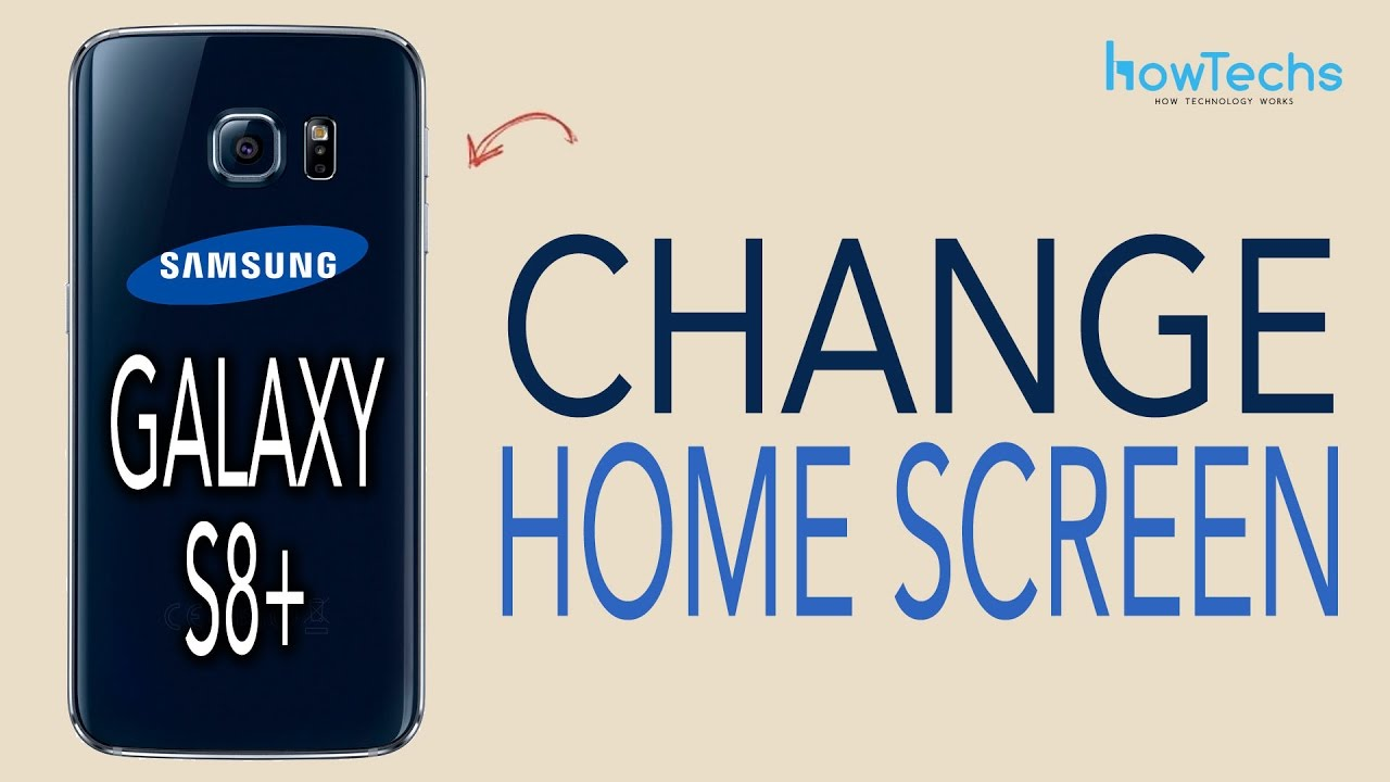 Samsung Galaxy S8/S8+ - How to change Home Screen App Layout - YouTube
