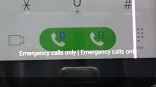 Emergency Calls Only Fix Samsung