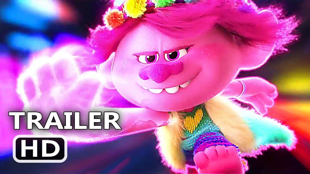 TROLLS 2 Trailer # 3 (NEW 2020) Trolls World Tour, Animation Movie HD