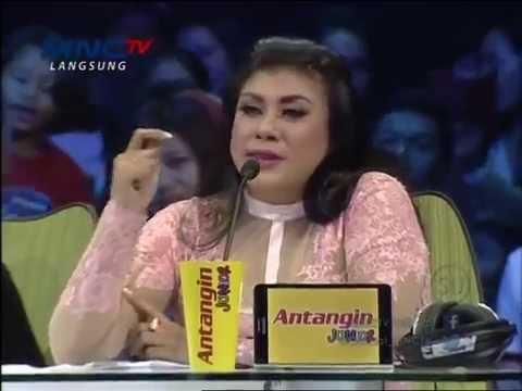 Regina Ivanova Merendahkan,Menyindir&Mempermalukan Indah Nevertari @Indonesian Idol Junior 14-2-2015