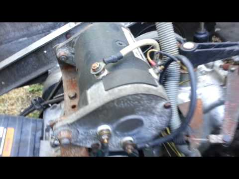FE350 Club Car Starter Removal - YouTube on