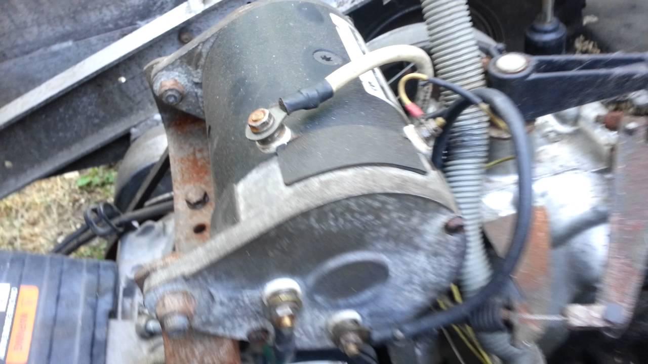 FE350 Club Car Starter Removal  YouTube