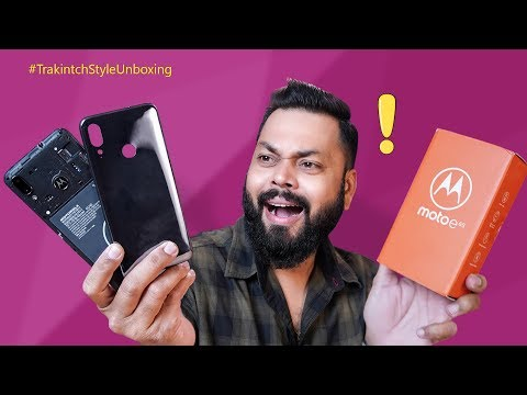Moto E6s Unboxing & First Impressions ⚡⚡⚡ Isne Toh Purane Phones Ki Yaad Dila Di!!