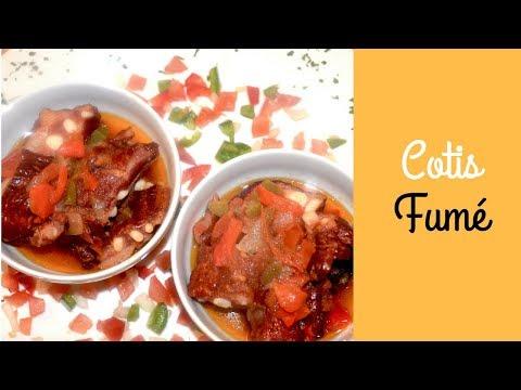 recette-cotes-de-porc-fumé-en-bouillon-(simple-et-bon)-♡